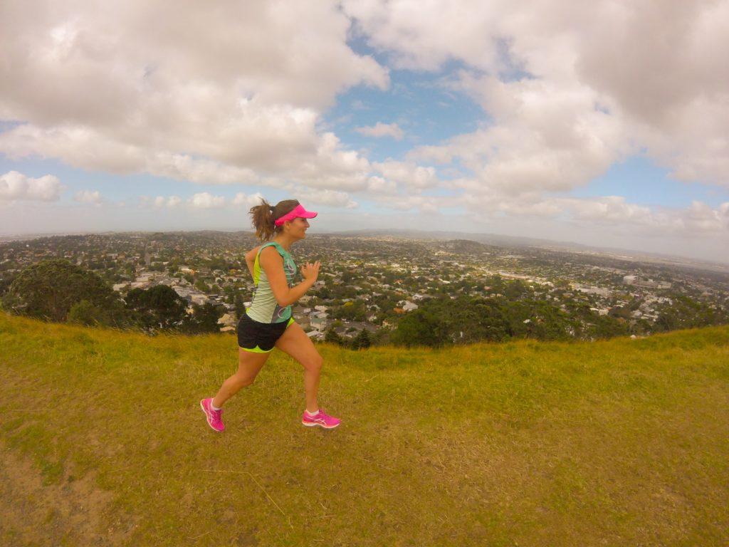 Running Girl Violet