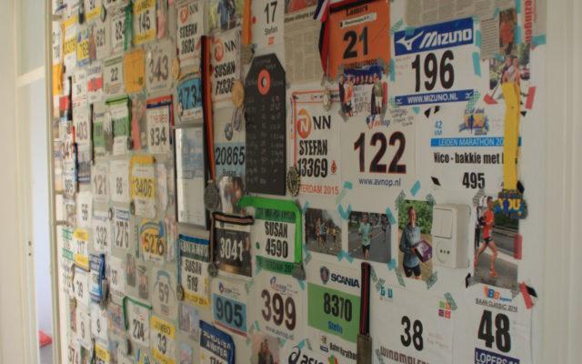 Een muur vol motivatie!