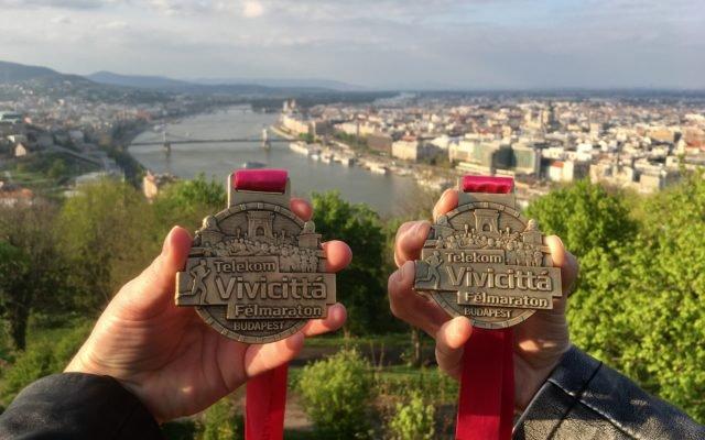 Boedapest halve marathon!