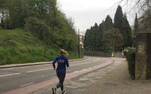 70 kilometer in april!