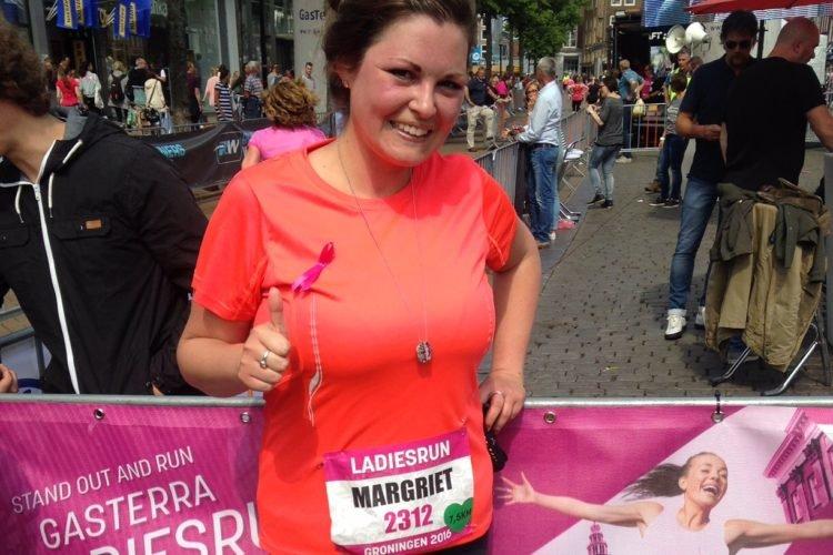 Running Girl van de week: Margriet!